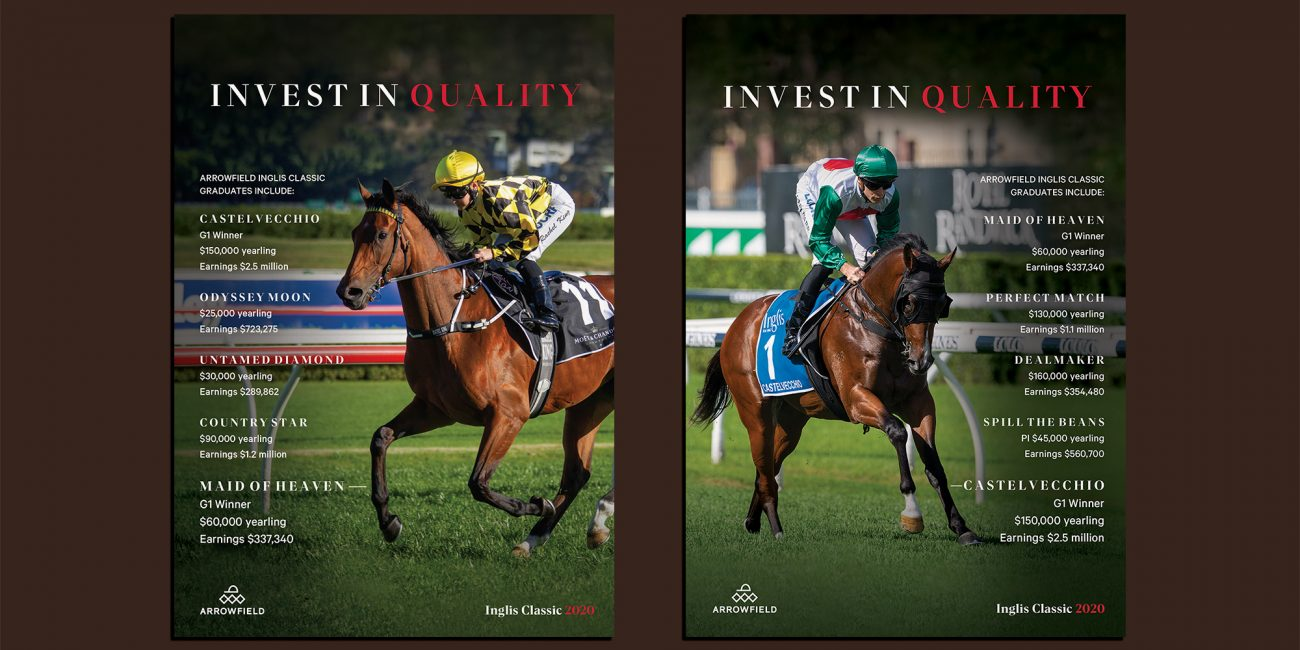 Arrowfield Stud Inglis Classic Marketing