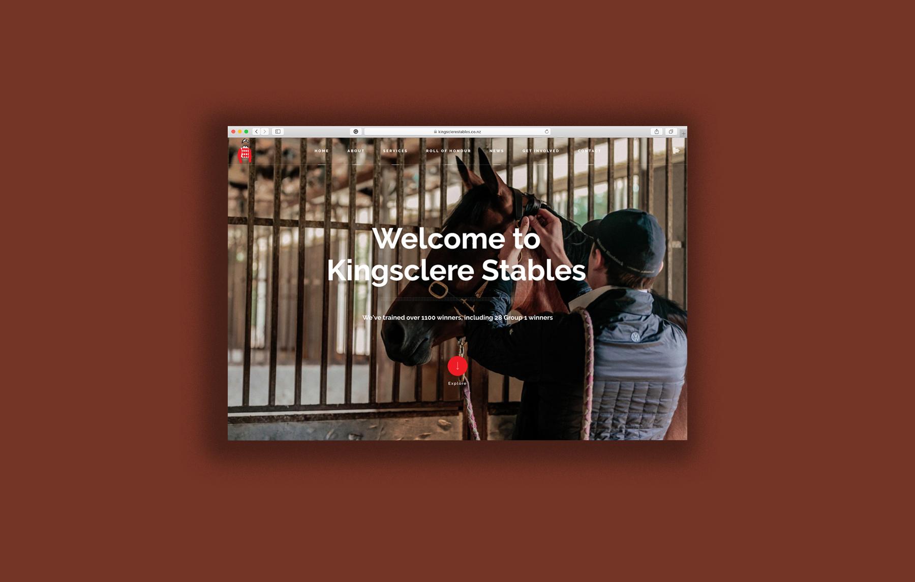 Kingsclere Stables Website