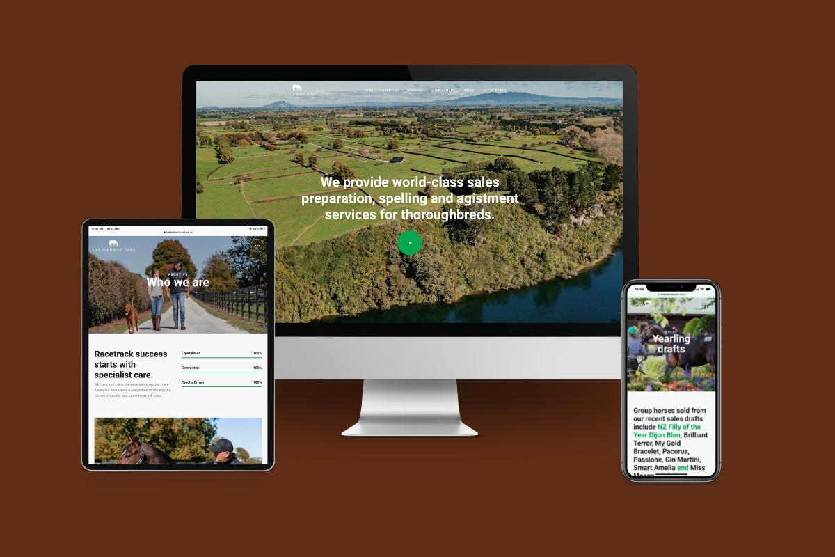 Landsdowne Park Website